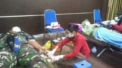 Photo of Dukung Ketersediaan Darah Kodim 0909/KTM Gelar Donor Darah